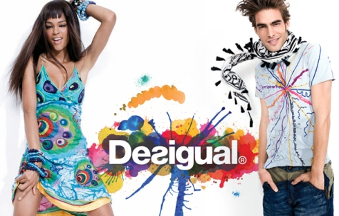 Desigual shopping in Barcelona